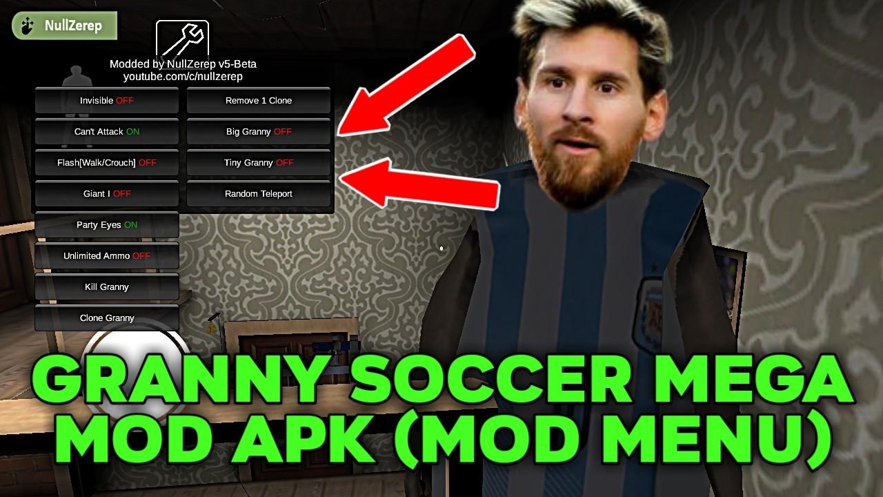 Granny Soccer MEGA MOD APK (Mod Menu)
