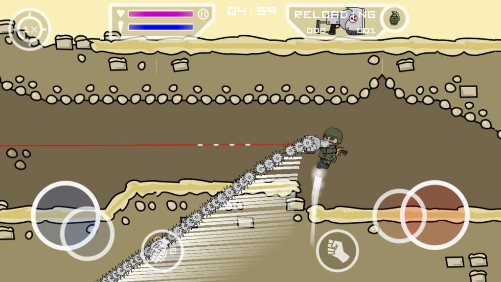 Mini Militia Mega MOD APK 4.1.1 (Wall Hack)
