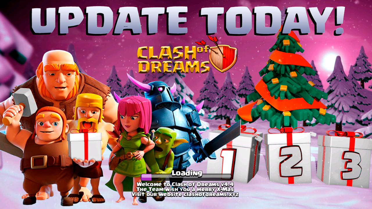 Clash of Dreams Private Server APK 9.265.1