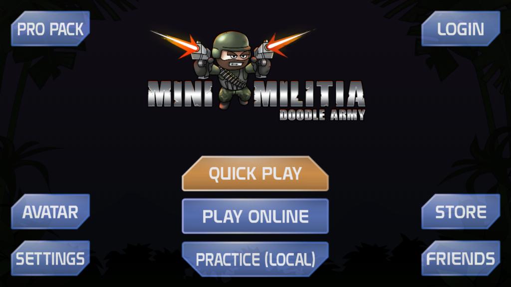 Mini Militia Undetectable MOD APK 4.2.8