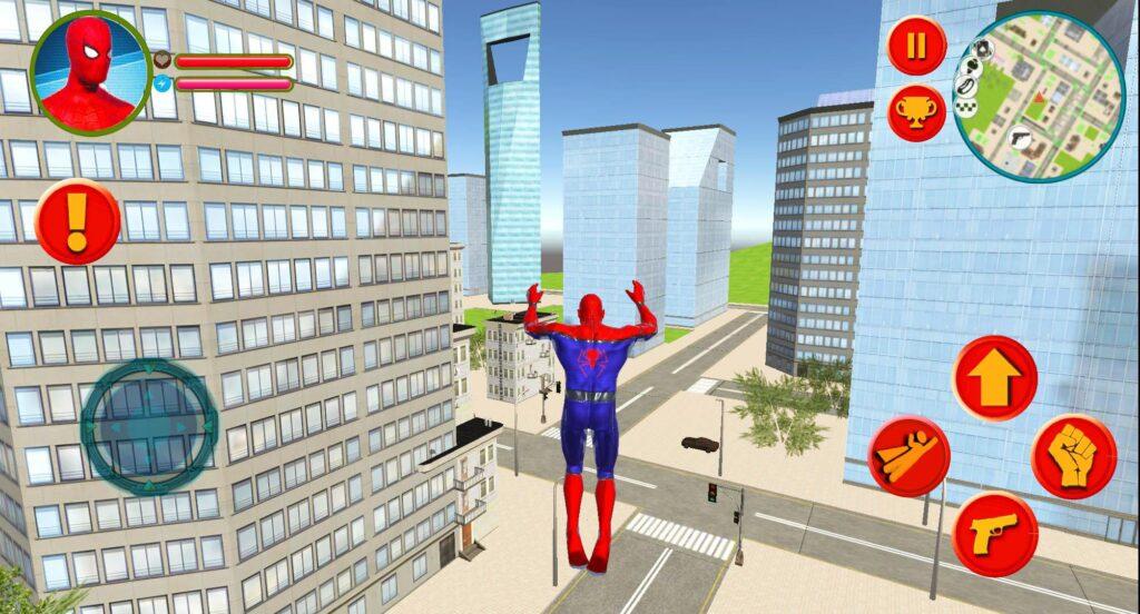 Spider Rope Hero Man Vegas Crime Simulator