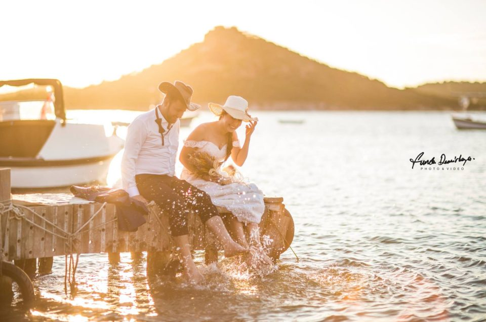 Nilay ve İsmail Ayvalık Ali bey adası Cunda düğün fotoğrafları (2)
