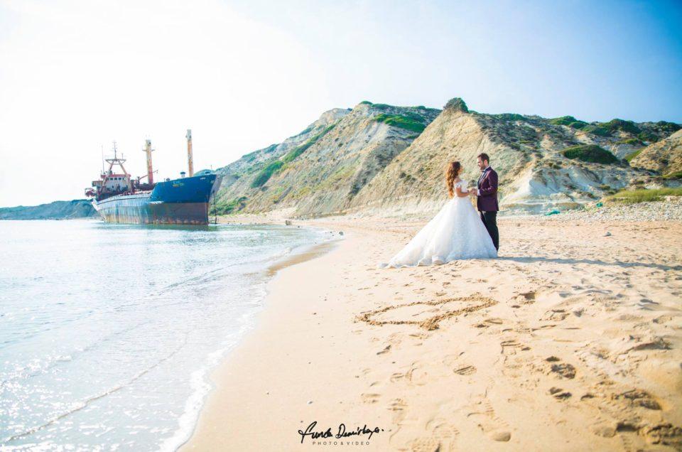 Seda ve Bahadır Bozcaada Dış Mekan Çekimi Düğün Fotoğrafları. Edremit Düğün Fotoğrafçısı Funda Demirkaya (15)