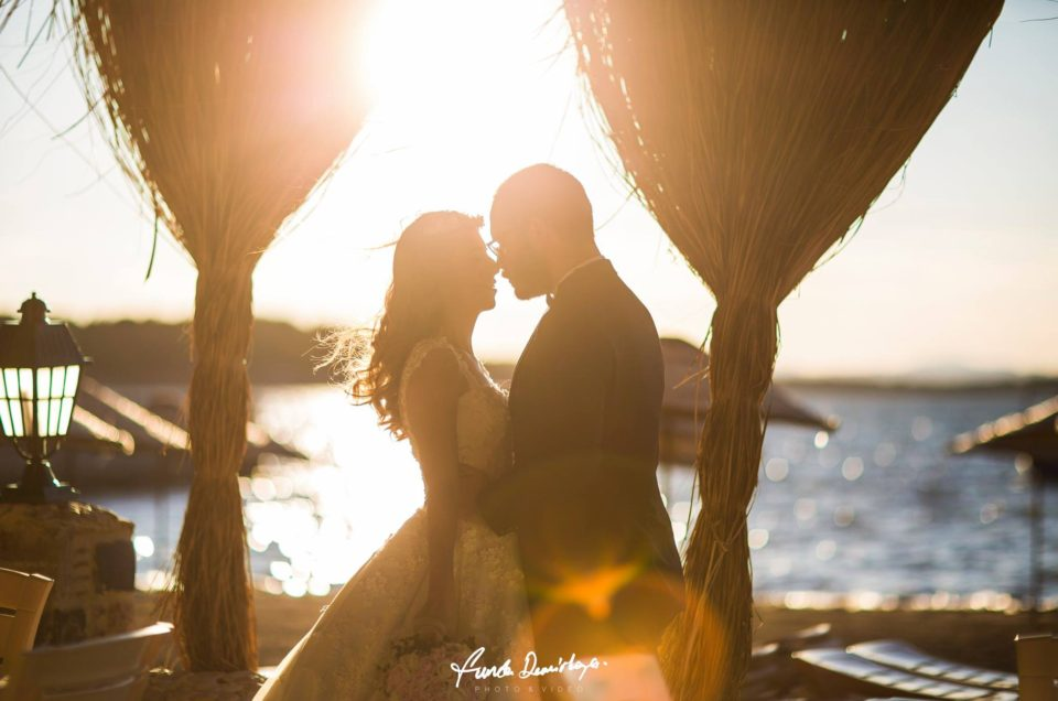 Özlem ve Şahin Ayvalık Cunda Adası Dış Çekim Düğün Fotoğrafları