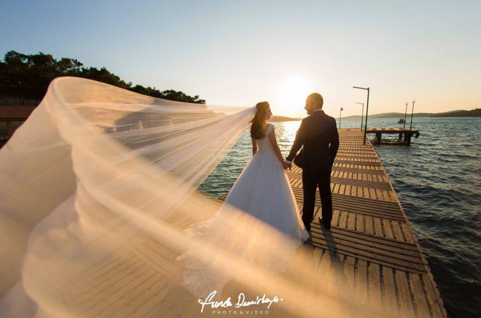 Duygu ve Fatih Ayvalık Cunda Adası Dış Çekim Düğün Fotoğrafları