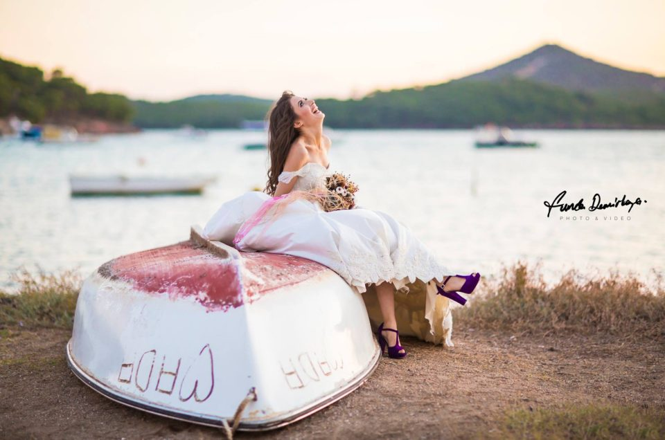 Handan ve Mehmet Selendi Soma Manisa Cunda Ayvalık Düğün Fotoğrafları