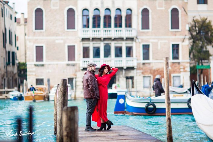 Elif ve Luca Venedik İtalya Yurtdışı Save The Date fotoğrafları (10)