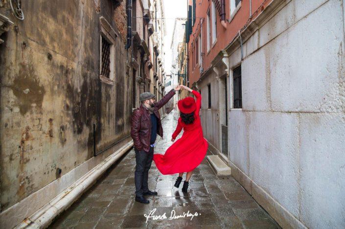 Elif ve Luca Venedik İtalya Yurtdışı Save The Date fotoğrafları (12)