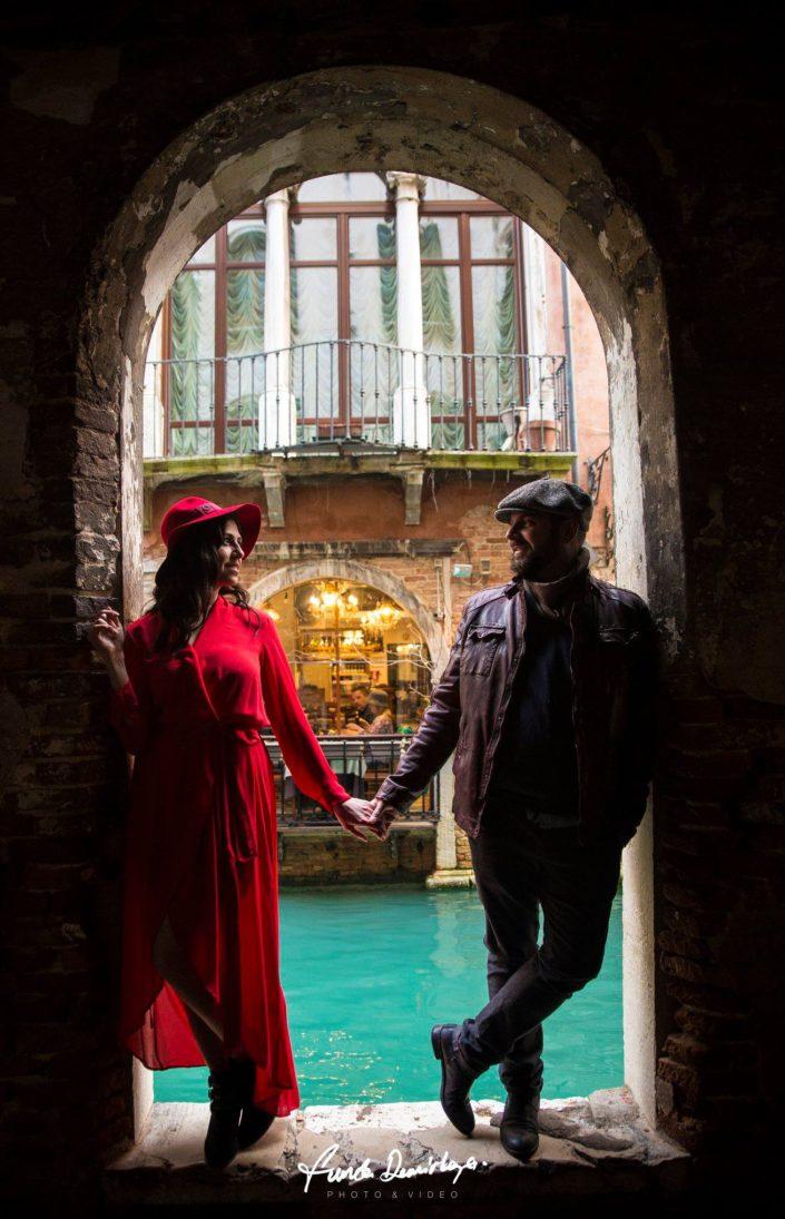 Elif ve Luca Venedik İtalya Yurtdışı Save The Date fotoğrafları (17)