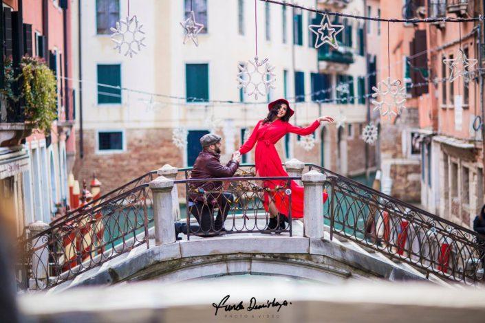 Elif ve Luca Venedik İtalya Yurtdışı Save The Date fotoğrafları (18)