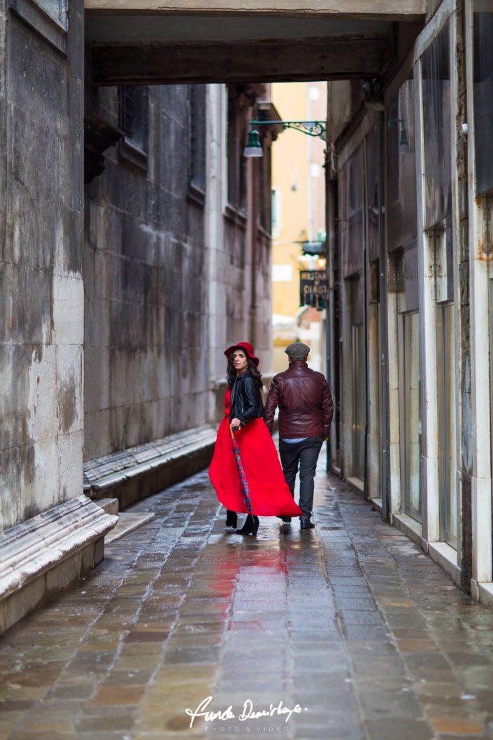 Elif ve Luca Venedik İtalya Yurtdışı Save The Date fotoğrafları (8)