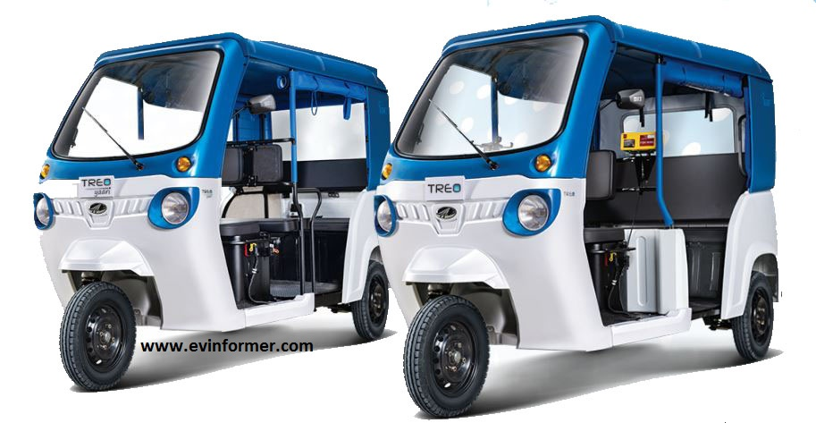 Mahindra Treo Electric Three Wheeler Price Specs Features Review & Images