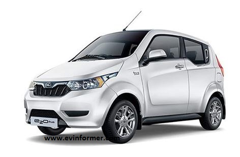 Mahindra e2o plus Electric Car Specifications