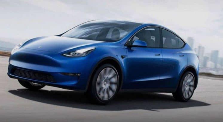 Tesla Model Y Electric Car Features