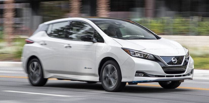 nissan leaf electric car lease