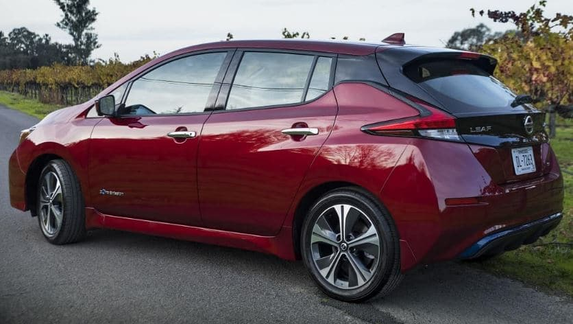 nissan leaf electric car review