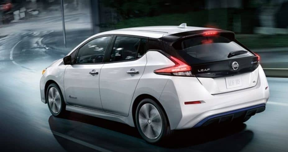 nissan leaf ev price