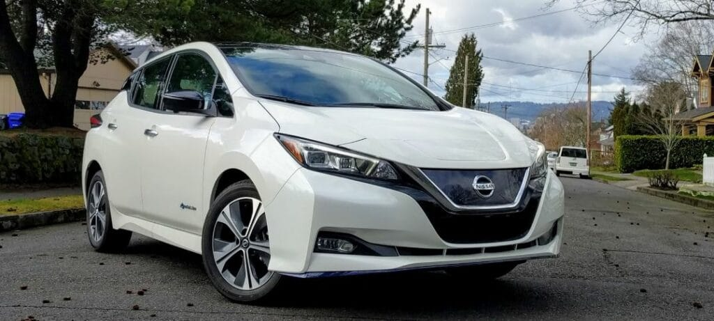 nissan leaf price in japan
