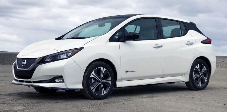 nissan leaf price in uk