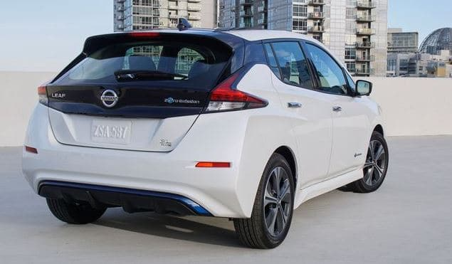 nissan leaf price in usa