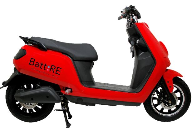 BattRE Electric Scooters Price in India Specs Features & Images