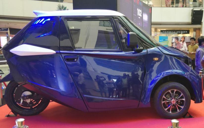 Strom-R3 Electric Car Price in India