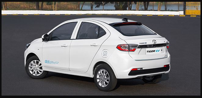 Tata Tigor EV price list in India