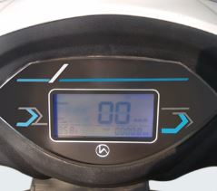 Hero Electric Flash LA Digital Speedometer