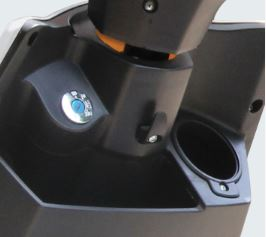 Hero Nyx E5 Electric Scooter Integrated Bottle Holder
