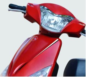 Hero OPTIMA E5 Electric Scooter Aerodynamic Body Design