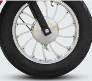 Hero OPTIMA E5 Electric Scooter Stylish Wheels