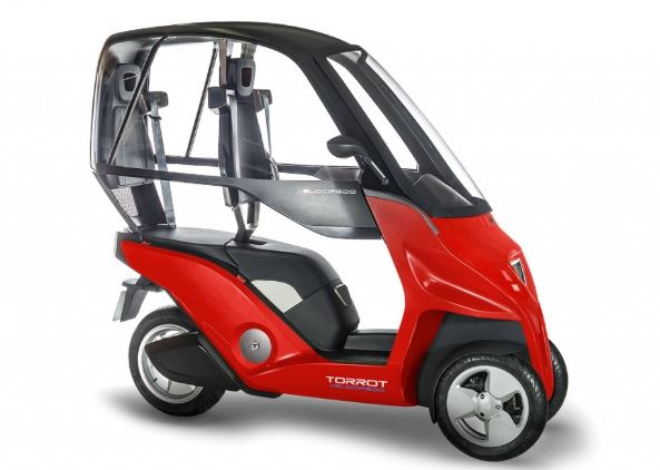 Torrot Velocipedo Electric Tricycle Price in India, Specification, Review, Features