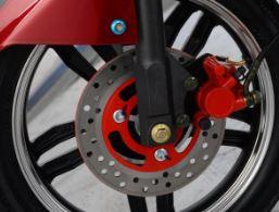Avan Motors Xero Electric Scooter Disc Brakes