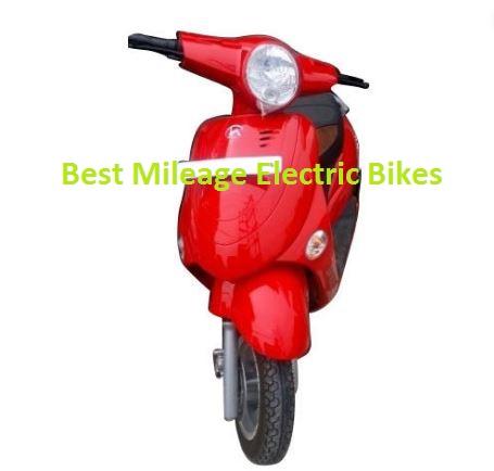 Best Mileage Electric Bikes