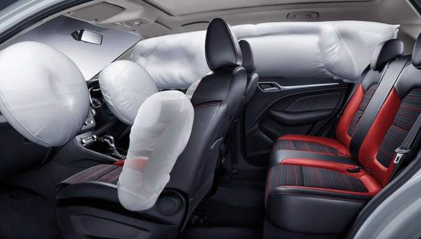 MG ZS EV interior features