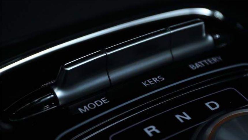 MG ZS EV interior parts