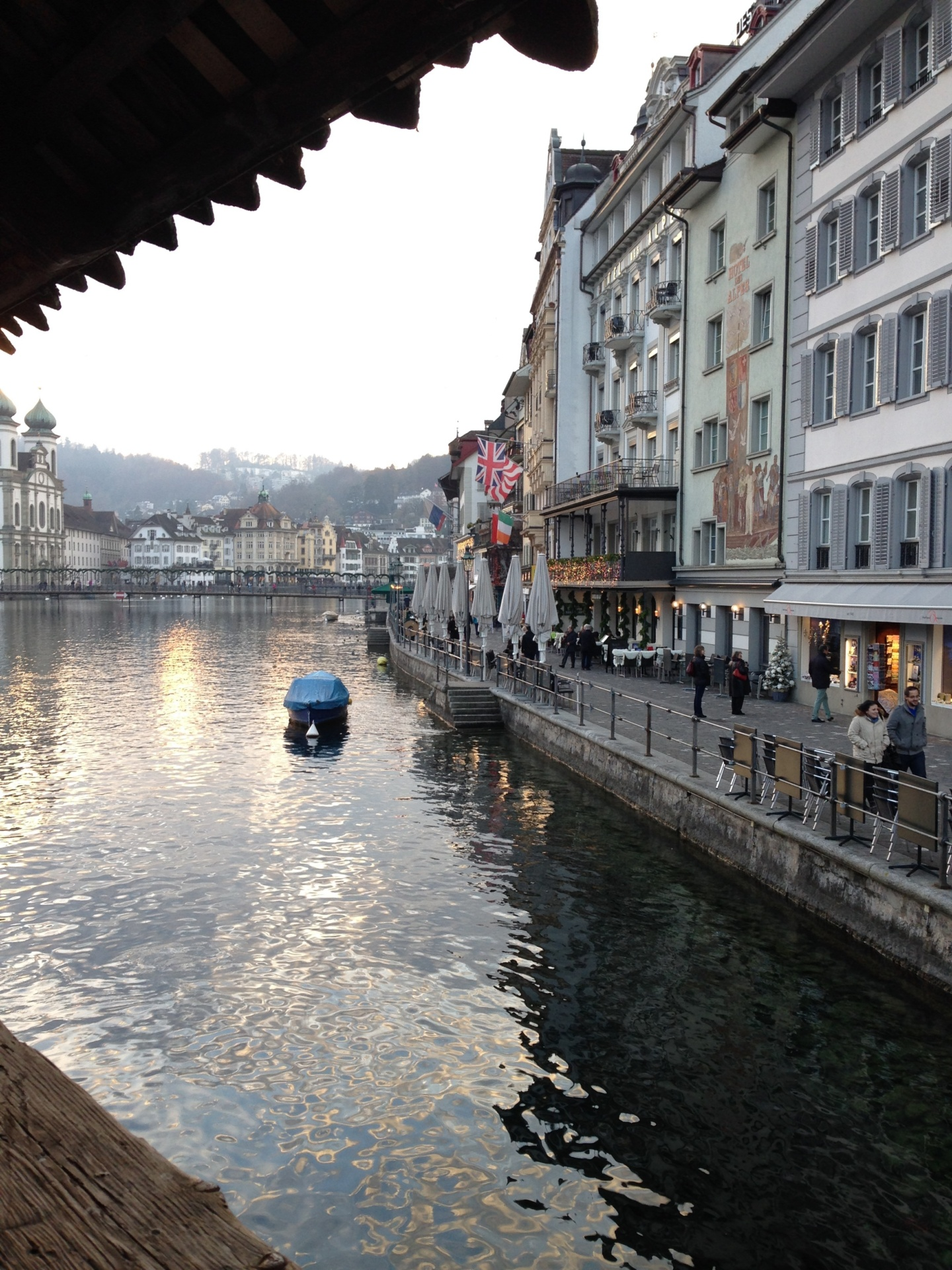 a winter holiday to lucerne and basel in switzerland