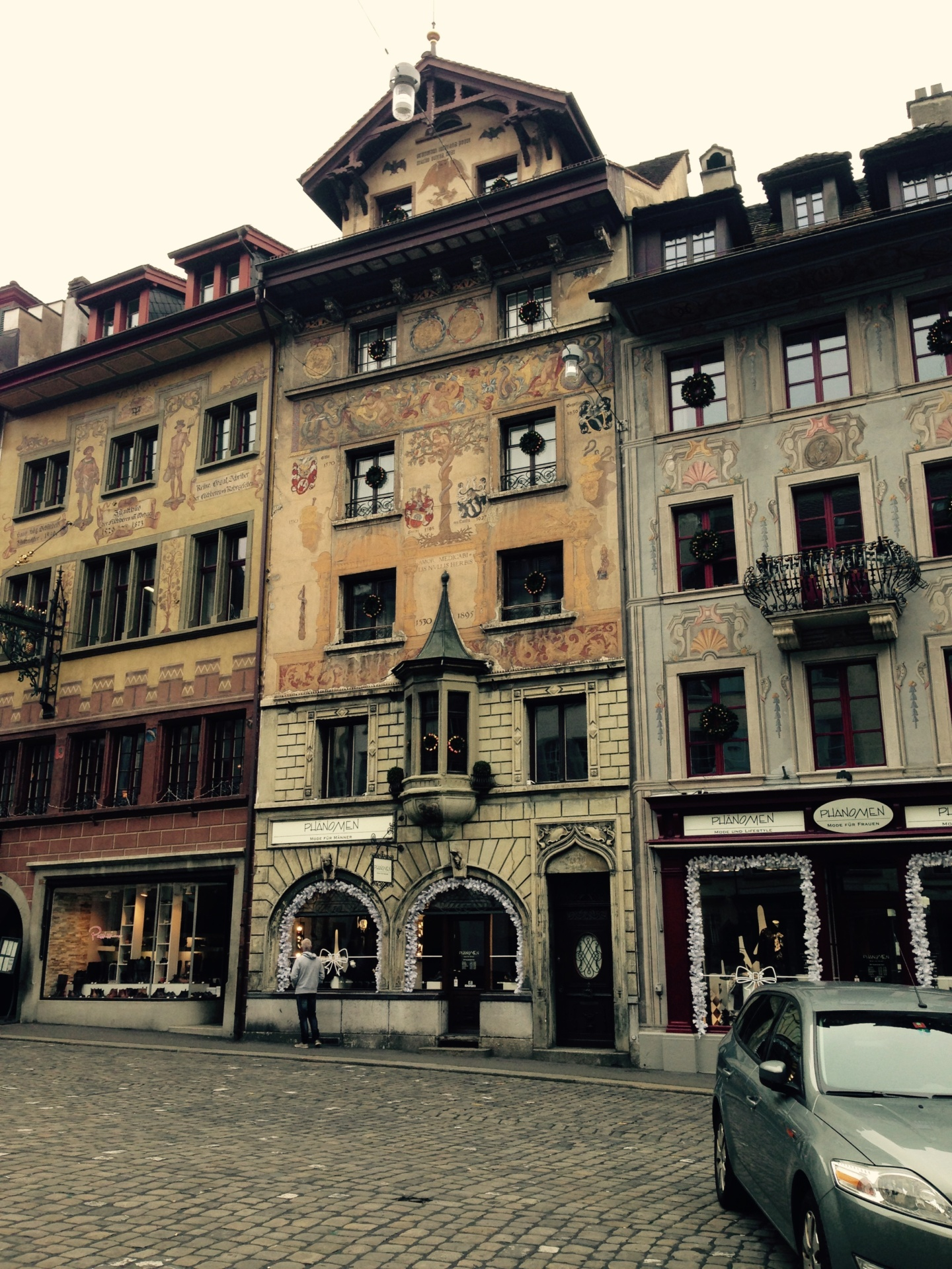 a winter break to lucerne and basel in Switzerland