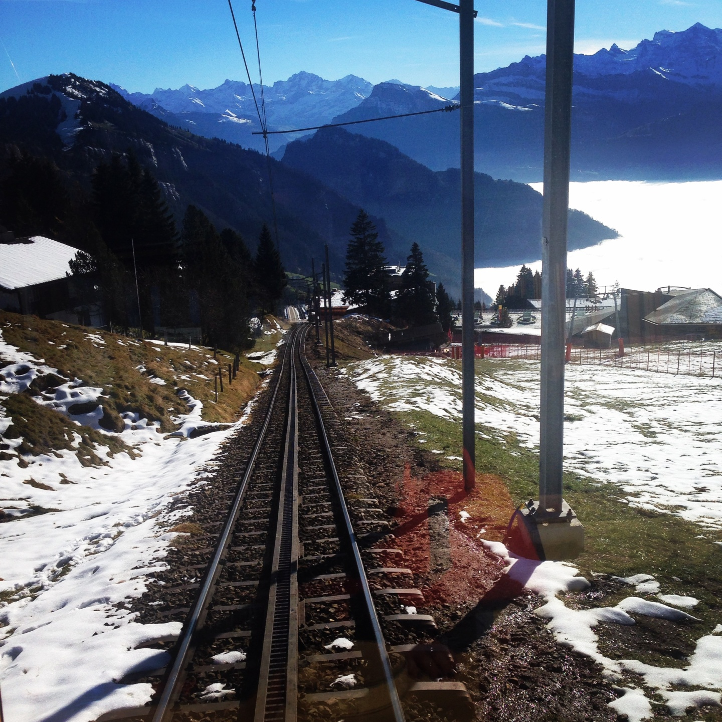 a winter holiday to lucerne Switzerland