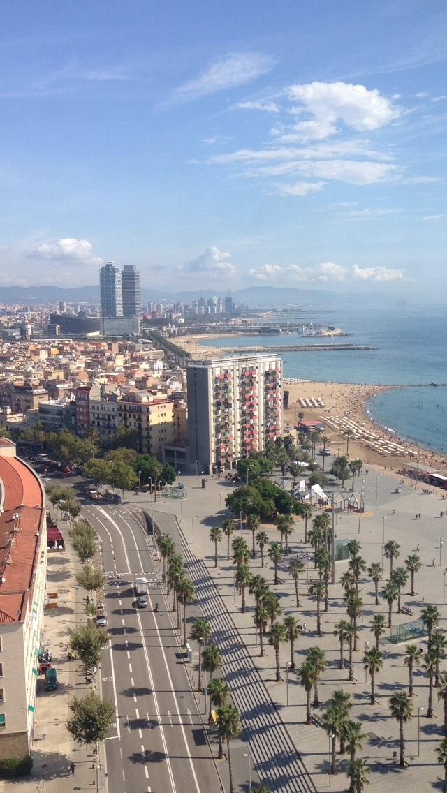 Summer Break in Barcelona, Spain