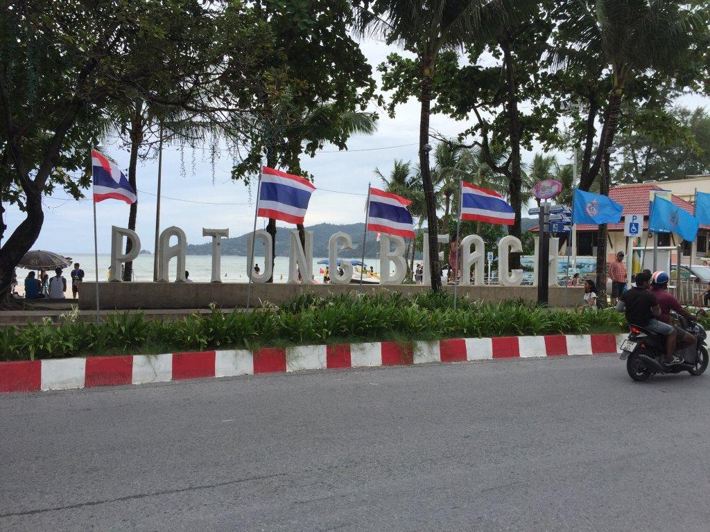 Backpacking stop two Phuket, patong beach