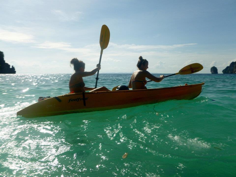 Wanderlustbee backpacking Thailand stop three Koh phi phi