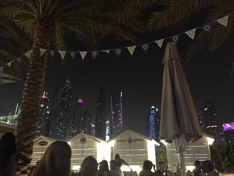 wanderlust bee, bubbalicious brunch to zero gravity Dubai, UAE
