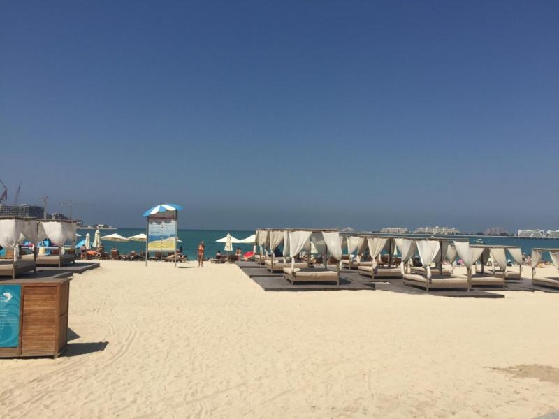 wanderlust beepart three dubai with the girls JBR beach Dubai, UAE