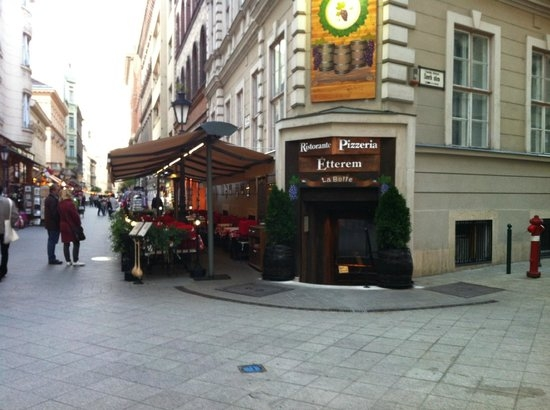 Image result for ristorante la botte budapest