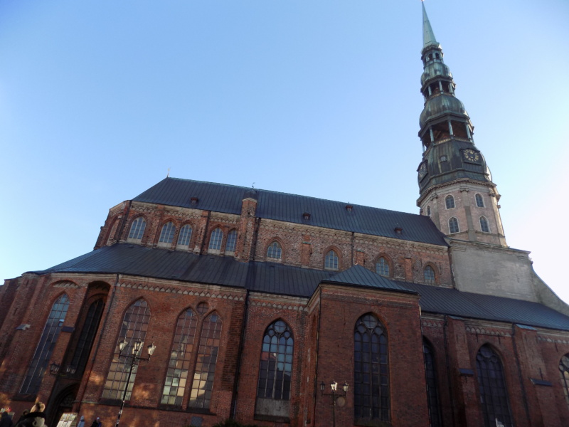 Wanderlustbee- St. Peter's church -Riga, latvia