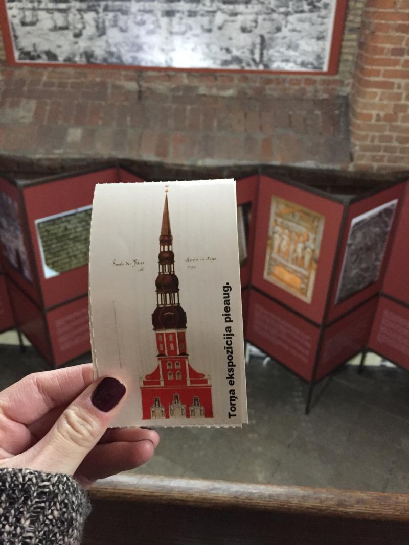 Wanderlust bee St. Peter's. Church - Riga, latvia