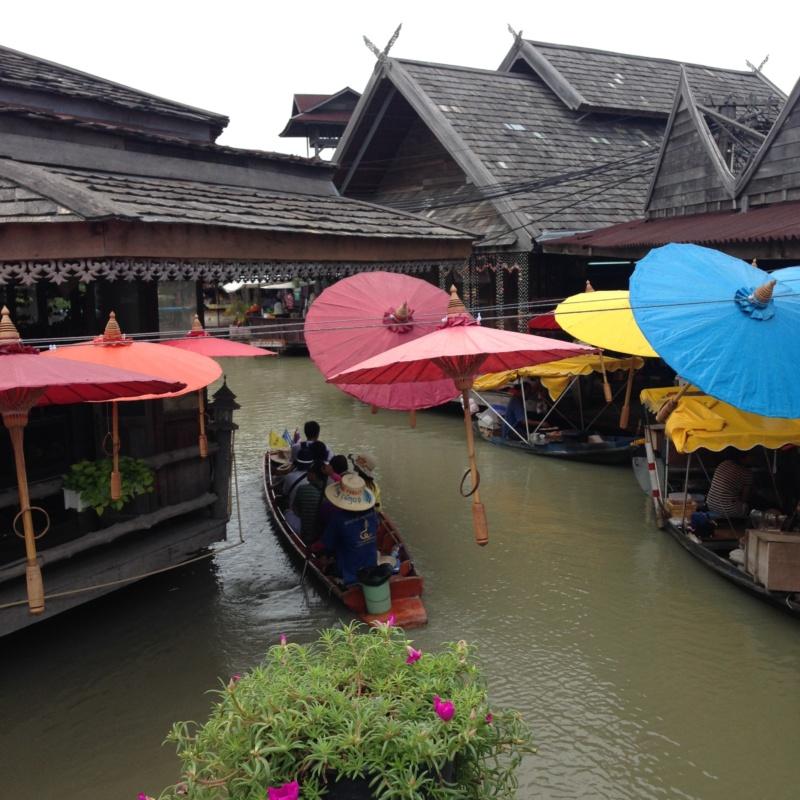 Wanderlust bee Pattyaa floating market