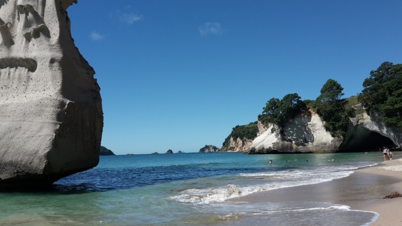 cathedral cove beach - wanderlustee
