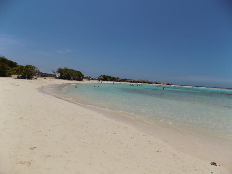 Wanderlustbee- Baby Beach, Aruba, Caribbean